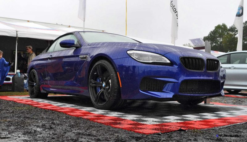 2016 BMW M6 Convertible - San Merino Blue 11