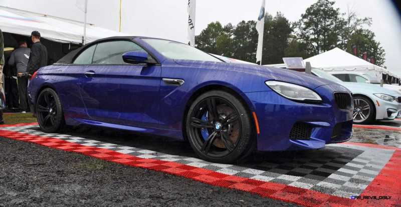 2016 BMW M6 Convertible - San Merino Blue 12