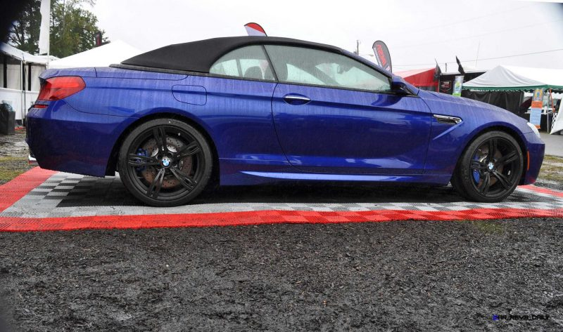 2016 BMW M6 Convertible - San Merino Blue 13