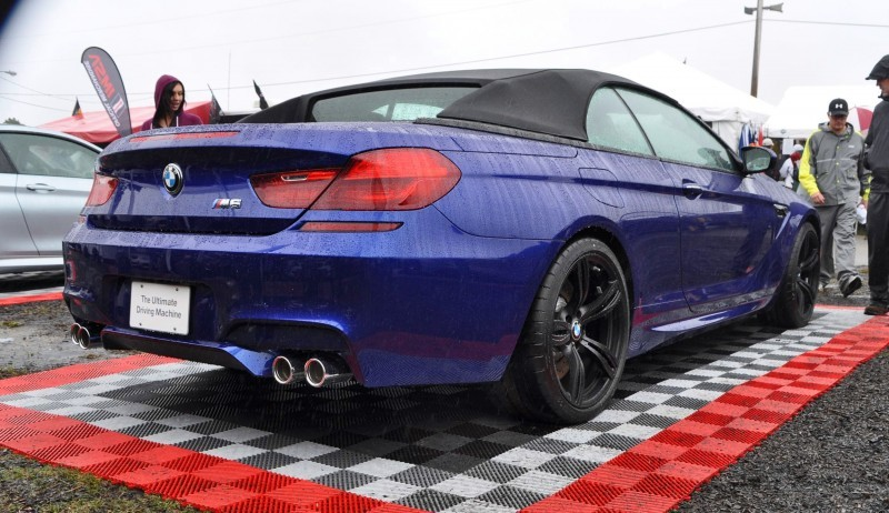 2016 BMW M6 Convertible - San Merino Blue 16