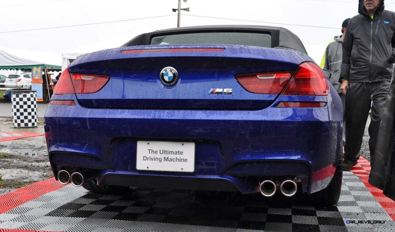 2016 BMW M6 Convertible - San Merino Blue 17
