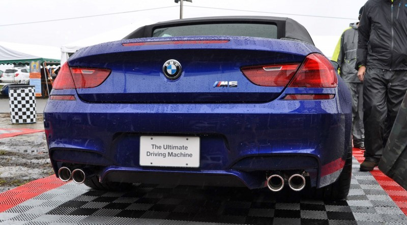 2016 BMW M6 Convertible - San Merino Blue 18