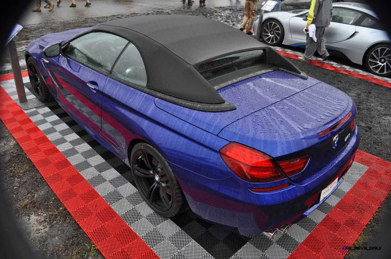 2016 BMW M6 Convertible - San Merino Blue 19