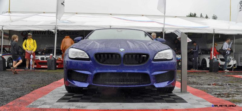 2016 BMW M6 Convertible - San Merino Blue 2