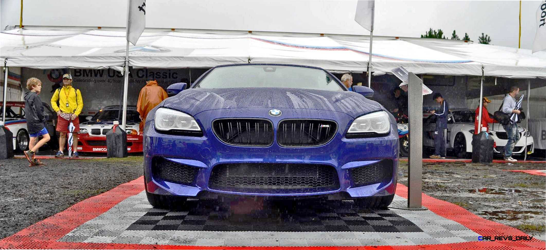 Animated Builder U2013 2016 BMW M6 Convertible U2013 San Merino Blue W/ Forged  Black M Double Spokes