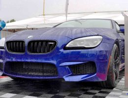 Animated Builder – 2016 BMW M6 Convertible – San Merino Blue w/ Forged Black M Double Spokes