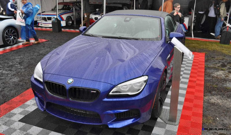 2016 BMW M6 Convertible - San Merino Blue 8