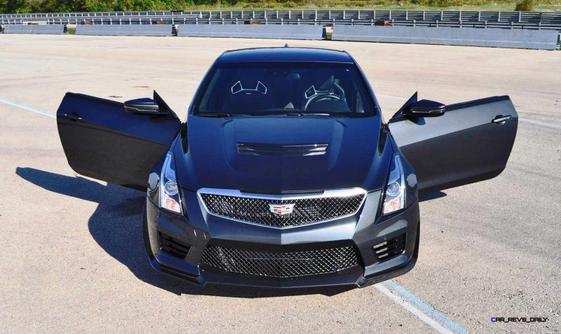 2016 Cadillac ATS-V Coupe - V. Cool, V. FAST! HD Track Drive + 120-Photo Flyaround 2016 Cadillac ATS-V Coupe - V. Cool, V. FAST! HD Track Drive + 120-Photo Flyaround