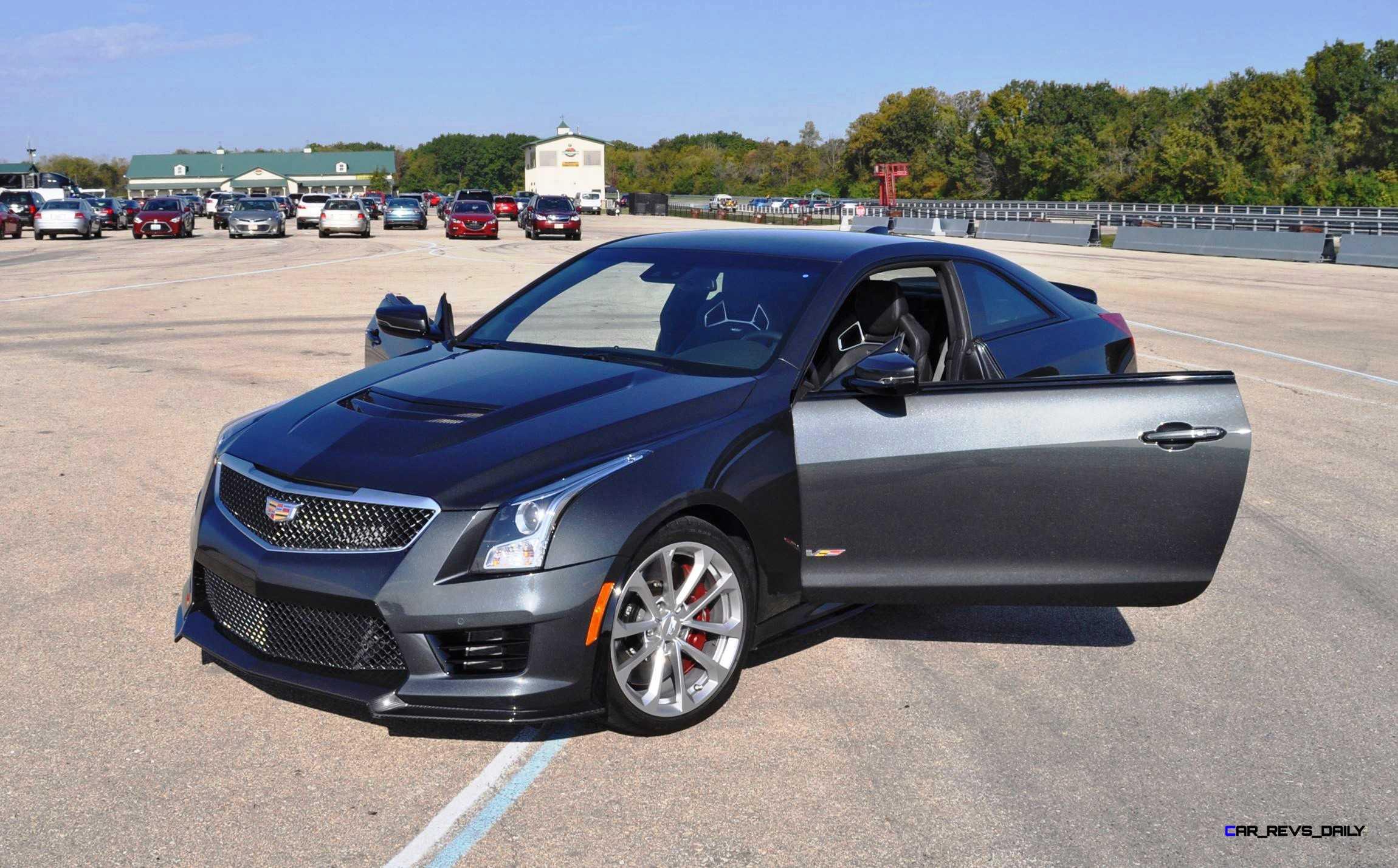 Cadillac Ats Coupe >> 2016 Cadillac ATS-V Review