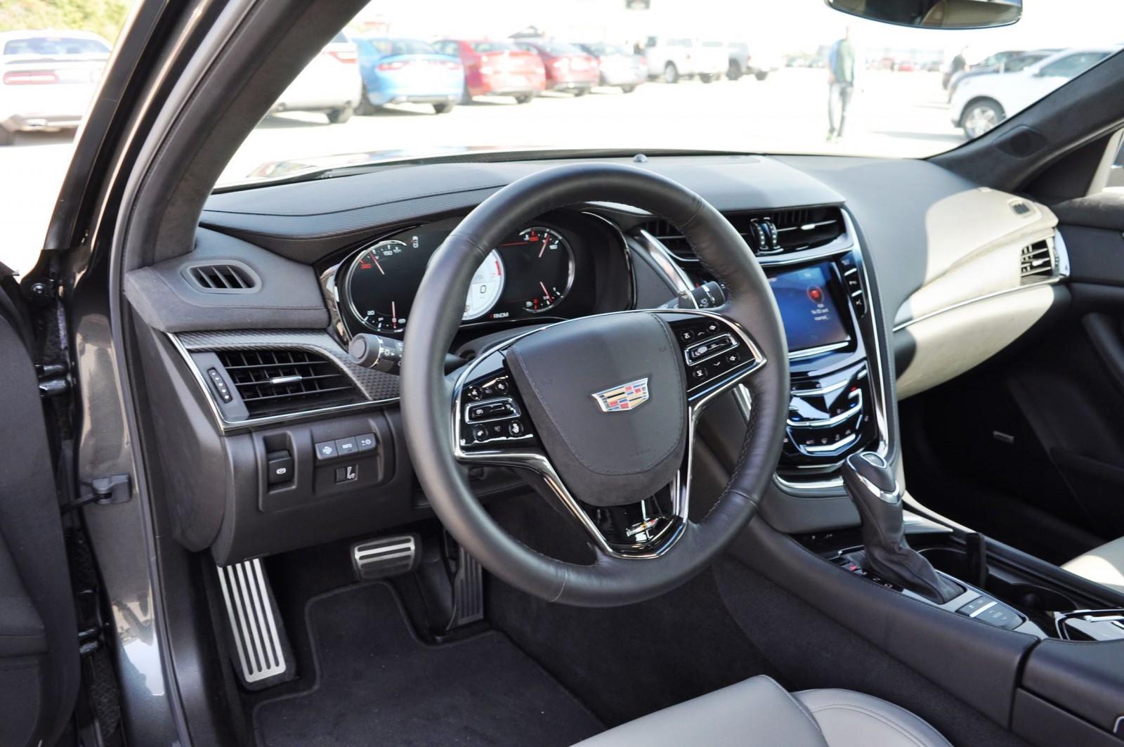 2016 Cadillac Cts V Review