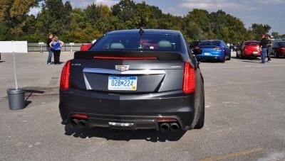 2016 Cadillac CTS-V Phantom Grey and Carbon Package 1