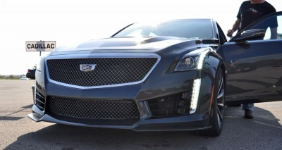 2016 Cadillac CTS-V Phantom Grey and Carbon Package 10