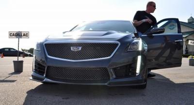 2016 Cadillac CTS-V Phantom Grey and Carbon Package 12