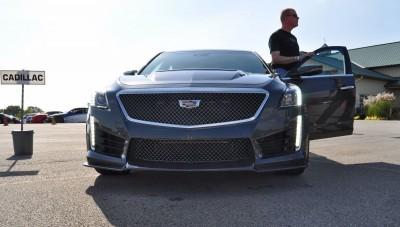 2016 Cadillac CTS-V Phantom Grey and Carbon Package 15