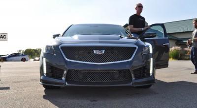 2016 Cadillac CTS-V Phantom Grey and Carbon Package 16