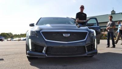 2016 Cadillac CTS-V Phantom Grey and Carbon Package 18