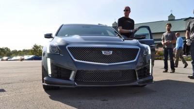 2016 Cadillac CTS-V Phantom Grey and Carbon Package 19