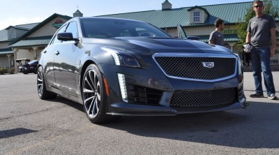 2016 Cadillac CTS-V Phantom Grey and Carbon Package 24