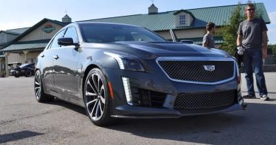 2016 Cadillac CTS-V Phantom Grey and Carbon Package 25