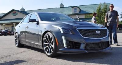 2016 Cadillac CTS-V Phantom Grey and Carbon Package 27