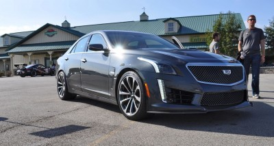2016 Cadillac CTS-V Phantom Grey and Carbon Package 28