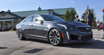 2016 Cadillac CTS-V Phantom Grey and Carbon Package 31