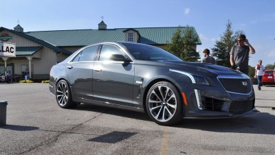 2016 Cadillac CTS-V Phantom Grey and Carbon Package 33