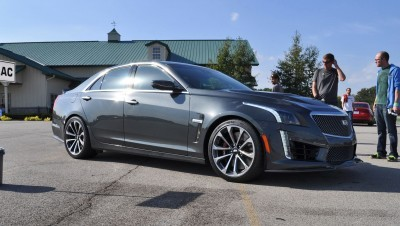 2016 Cadillac CTS-V Phantom Grey and Carbon Package 35