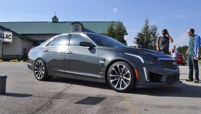 2016 Cadillac CTS-V Phantom Grey and Carbon Package 36