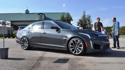 2016 Cadillac CTS-V Phantom Grey and Carbon Package 37