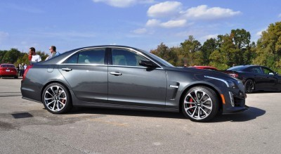 2016 Cadillac CTS-V Phantom Grey and Carbon Package 42
