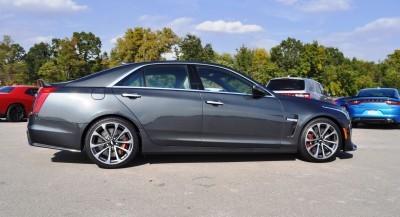 2016 Cadillac CTS-V Phantom Grey and Carbon Package 46