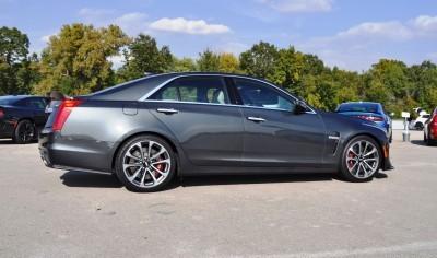 2016 Cadillac CTS-V Phantom Grey and Carbon Package 47