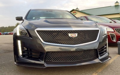 2016 Cadillac CTS-V Phantom Grey and Carbon Package 55