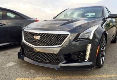 2016 Cadillac CTS-V Phantom Grey and Carbon Package 57