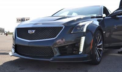 2016 Cadillac CTS-V Phantom Grey and Carbon Package 9