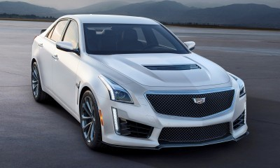 Cadillac Creates 99-unit Exclusive - V-Series Crystal White Frost Editions of ATS-V and CTS-V
