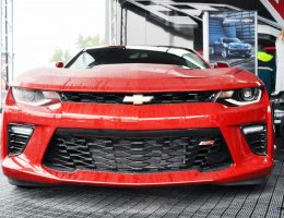 2016 Chevrolet CAMARO SS Shows Chisel-Flow Redesign at Petit Le Mans