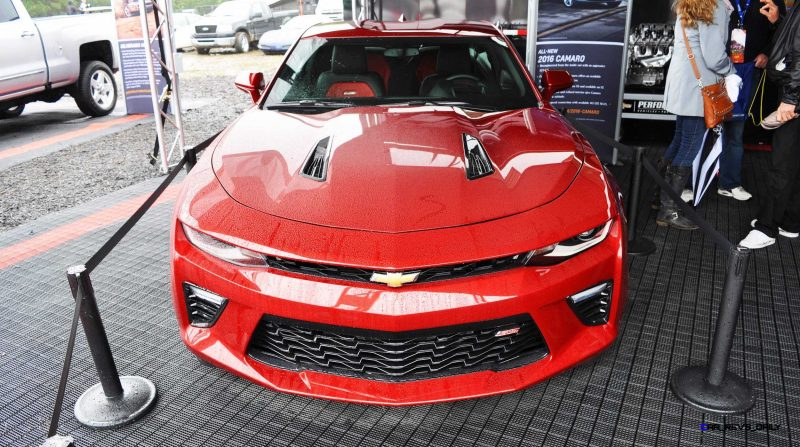 2016 Chevrolet CAMARO SS Shows Chisel-Flow Redesign at Petit Le Mans 10