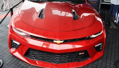 2016 Chevrolet CAMARO SS Shows Chisel-Flow Redesign at Petit Le Mans 12