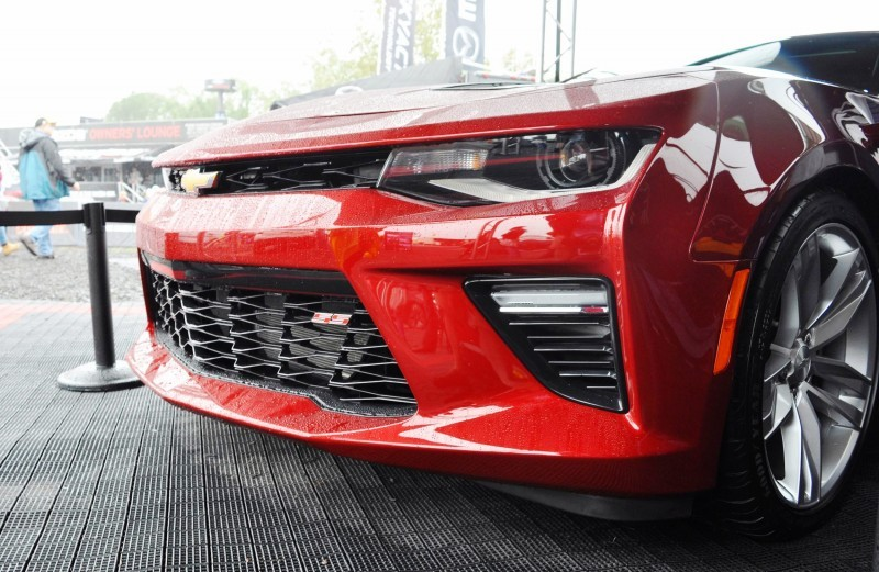 2016 Chevrolet CAMARO SS Shows Chisel-Flow Redesign at Petit Le Mans 14