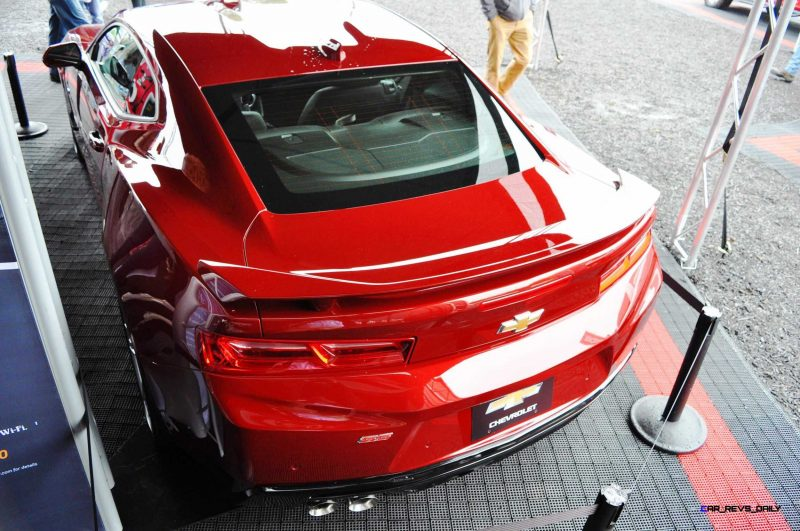 2016 Chevrolet CAMARO SS Shows Chisel-Flow Redesign at Petit Le Mans 16
