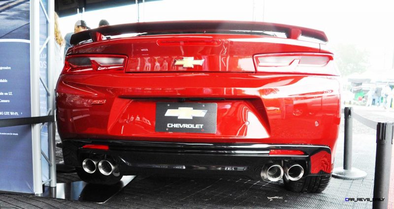 2016 Chevrolet CAMARO SS Shows Chisel-Flow Redesign at Petit Le Mans 17