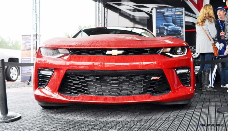 2016 Chevrolet CAMARO SS Shows Chisel-Flow Redesign at Petit Le Mans 2
