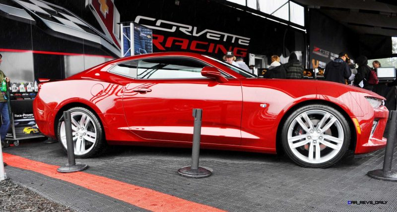 2016 Chevrolet CAMARO SS Shows Chisel-Flow Redesign at Petit Le Mans 24