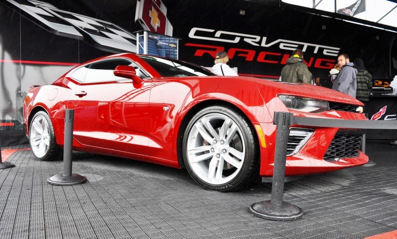 2016 Chevrolet CAMARO SS Shows Chisel-Flow Redesign at Petit Le Mans 27