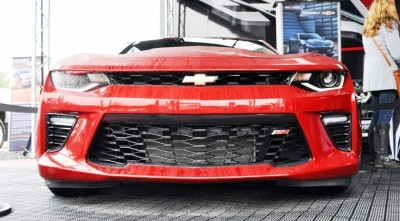 2016 Chevrolet CAMARO SS Shows Chisel-Flow Redesign at Petit Le Mans 3