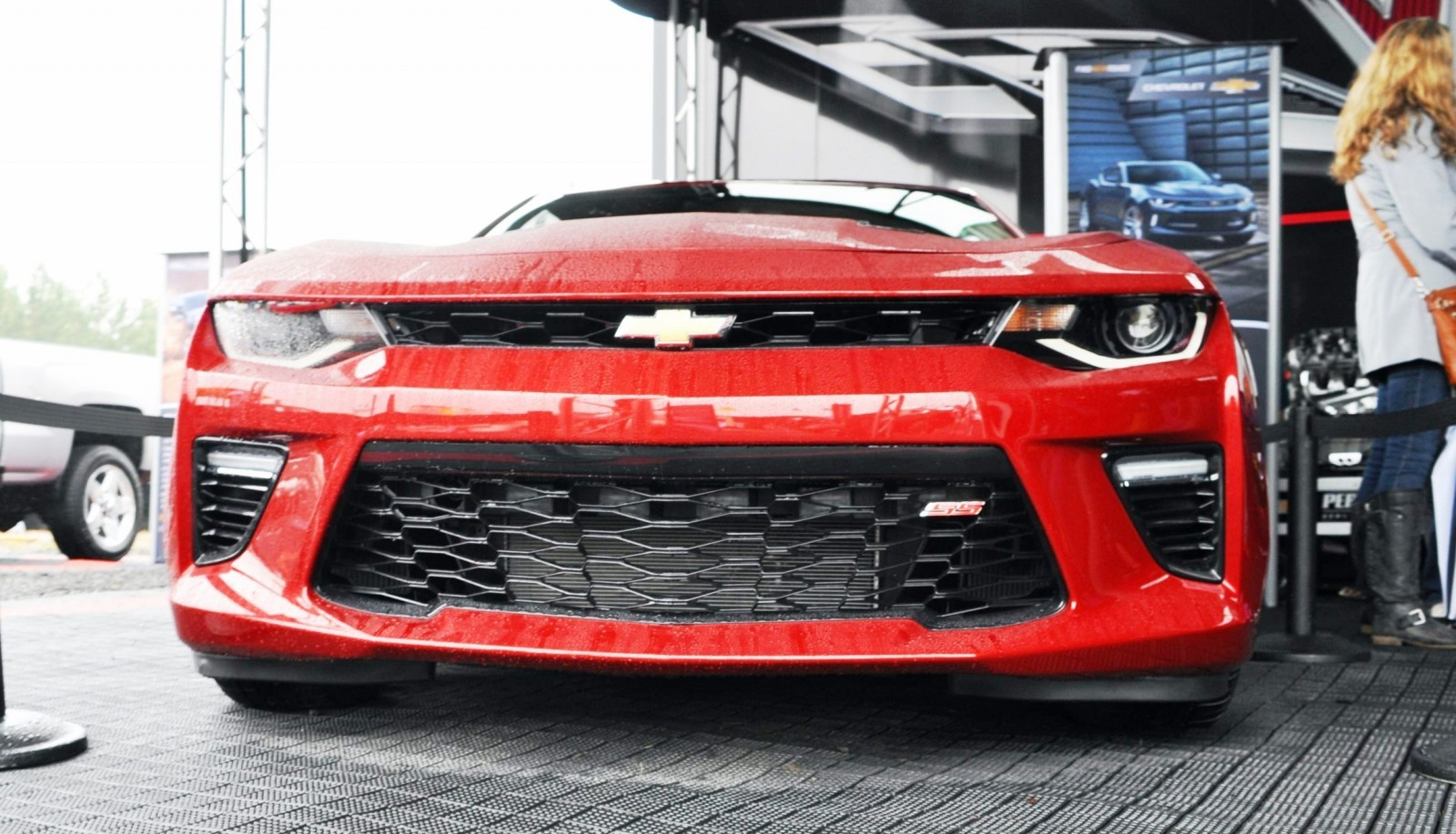 2016 Chevrolet Camaro Ss Shows Chisel Flow Redesign At Petit Le Mans
