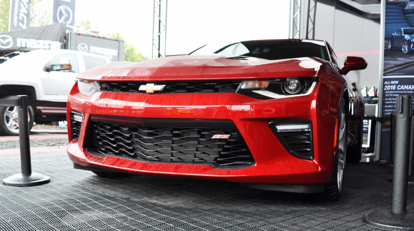 2016 Chevrolet Camaro Ss Shows Chisel Flow Redesign At