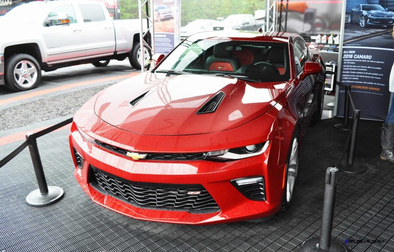 2016 Chevrolet CAMARO SS Shows Chisel-Flow Redesign at Petit Le Mans 9